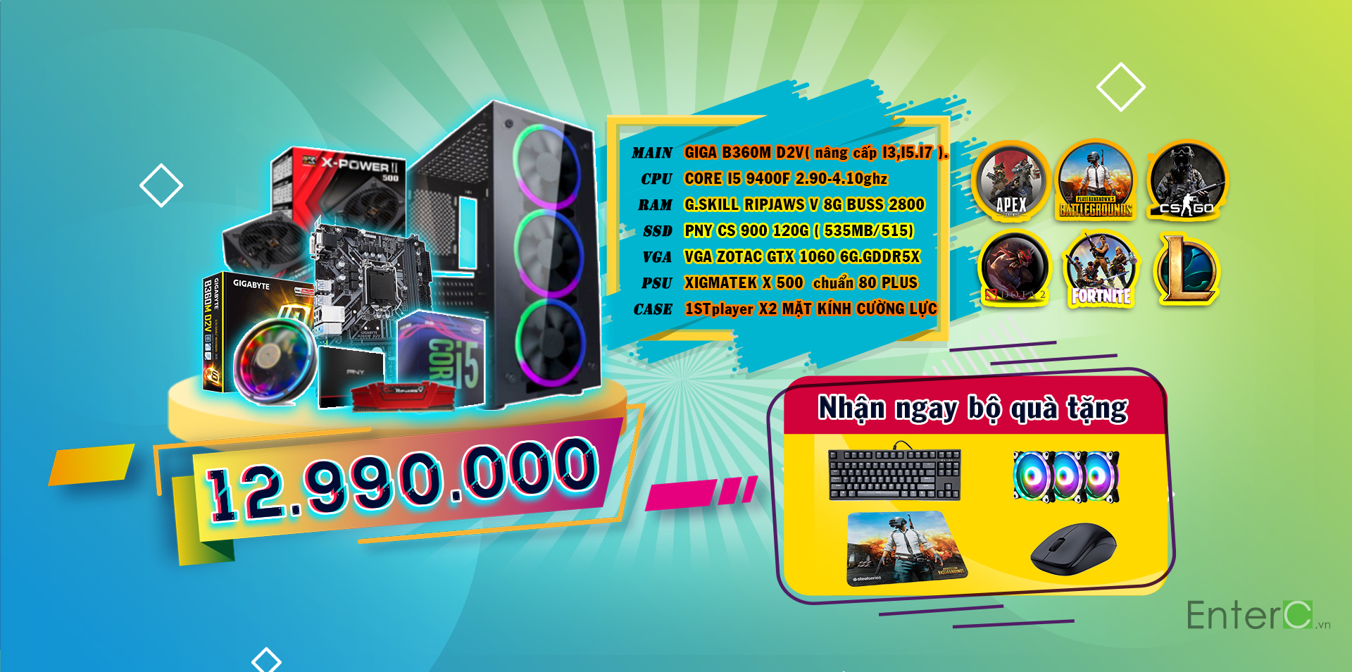 Enter C Việt Nam Baner gaming 3