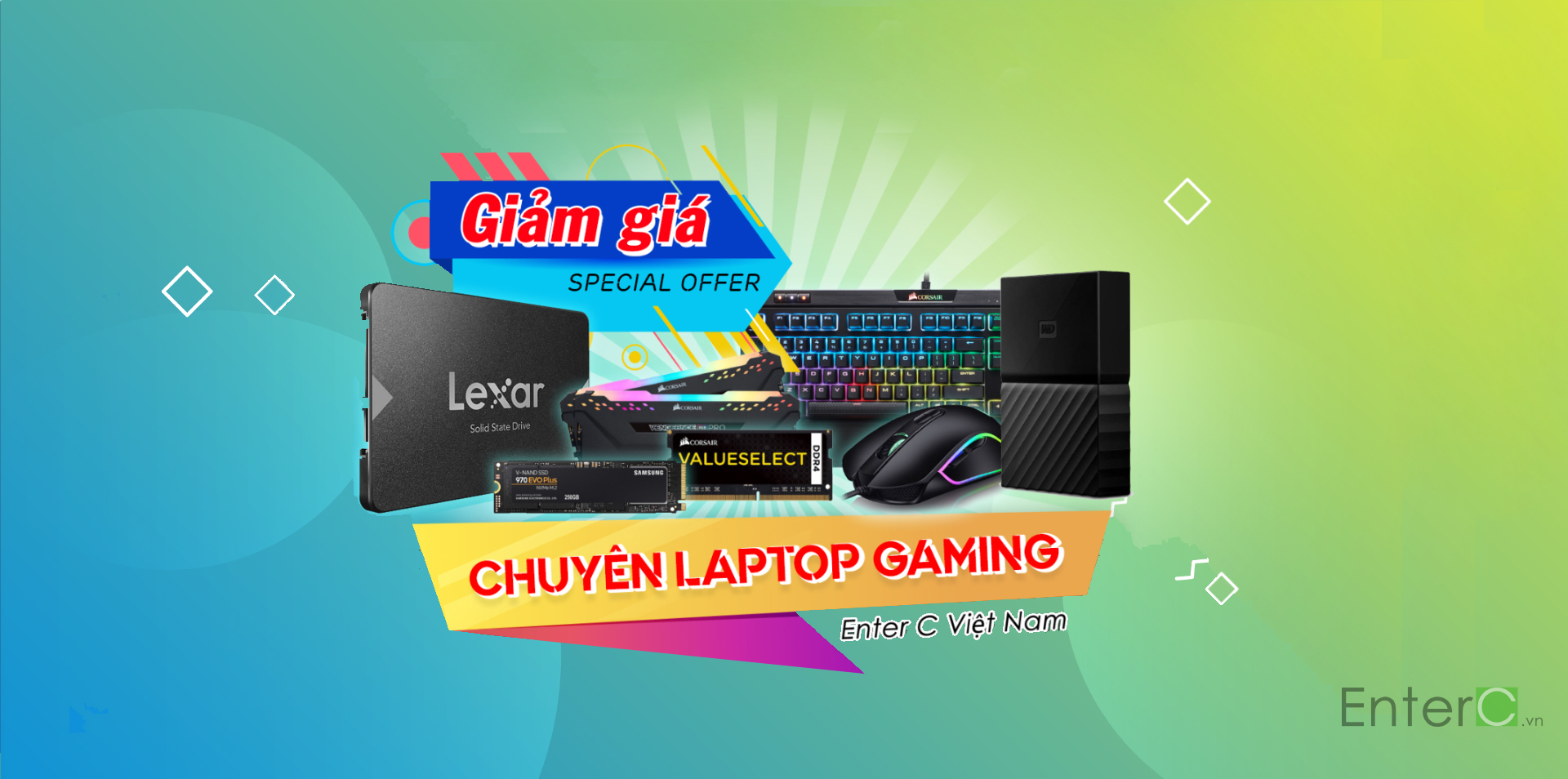 Enter C Việt Nam Baner gaming 2