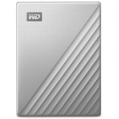 Ổ cứng di động HDD Portable 1TB WD My Passport Ultra Metal Silver