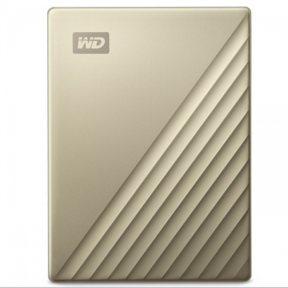 Ổ cứng di động HDD Portable 1TB WD My Passport Ultra Metal Gold