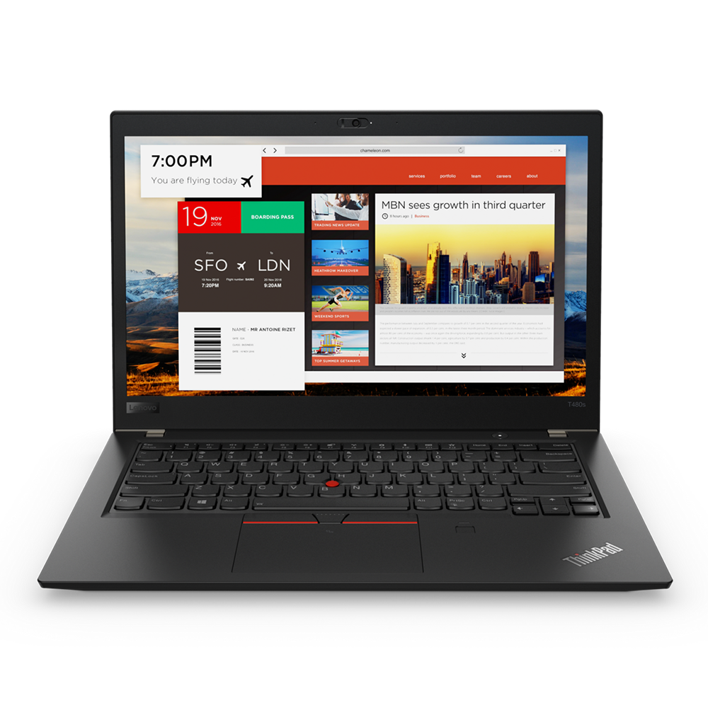 Lenovo ThinkPad T480 i7-8650U/ RAM 8GB/ SSD 256GB/ Intel UHD Graphics 620/ 14 inch