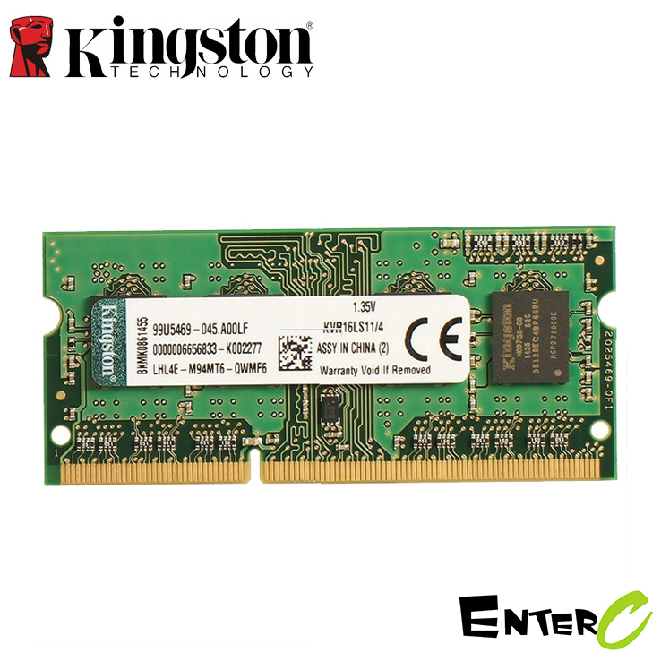 Ram Laptop Kingston DDR3L 4GB Bus 1600