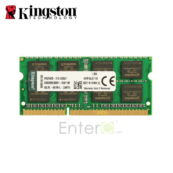 Ram Laptop Kingston DDR3L 8G Bus 1600