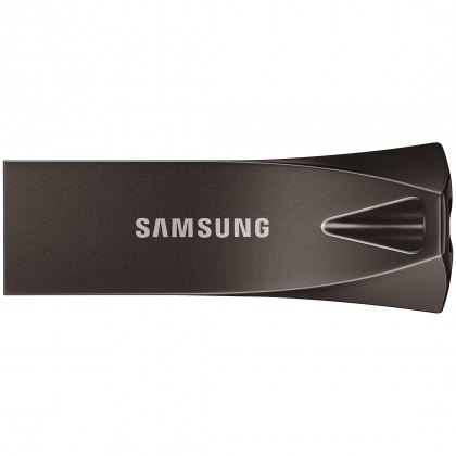 USB 256GB Samsung Bar Plus Titan Gray